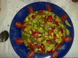 Avocado e pomodoro